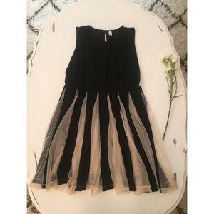 Sheath Princess Lace & Black Dress